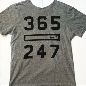 Nike Gray Athletic T-Shirt